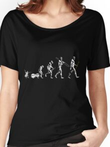 Clarinet Evolution - no tagline Women's Relaxed Fit T-Shirt