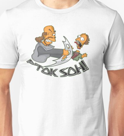 Klingon Bart and Homer Unisex T-Shirt