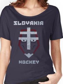 Slovakia Hockey Women's Relaxed Fit T-Shirt