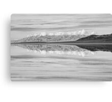 Badwater Reflection Canvas Print