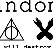 Fandoms - cults that will destroy your life Sticker