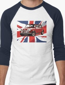 Cool Britannia Austin Mini  Men's Baseball ¾ T-Shirt