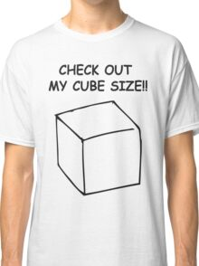 Cube size Classic T-Shirt