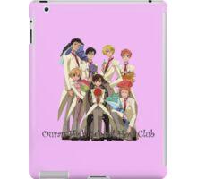 Fancy Host Club iPad Case/Skin