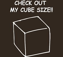 Cube size Unisex T-Shirt