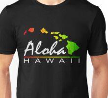 ALOHA - Hawaiian Islands (vintage distressed design) Unisex T-Shirt