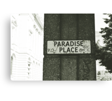 This is Paradise? Canvas Print