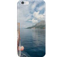 Cruising Up to Makarska iPhone Case/Skin