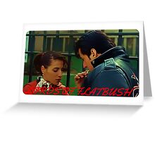 Stallone in Lords of Flatbush Greeting Card