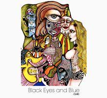 CLMD - Black Eyes and Blue Artwork Unisex T-Shirt