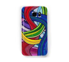 SJK Colorful Psychedelic Design Samsung Galaxy Case/Skin