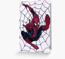 SJK Spiderman Greeting Card