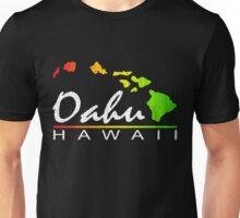 Oahu Hawaiian Islands (vintage distressed designs) Unisex T-Shirt