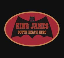 Lebron James Miami Heat King James Mask Tshirt by xdurango