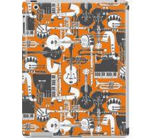 weave jazz orange iPad Case/Skin