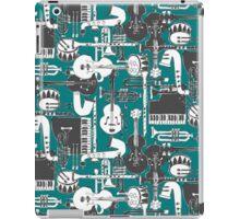 weave jazz teal iPad Case/Skin