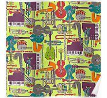 weave jazz multi Poster