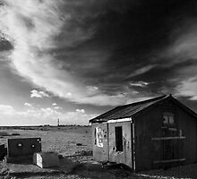 Dungeness Old Abandoned fishing boat and sheds 2 by WillG