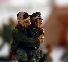 A Helping Hand, II World War Memories by ARTificiaLondon