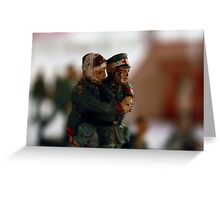 A Helping Hand, II World War Memories Greeting Card
