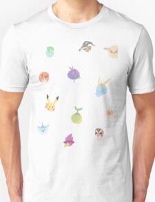 chibi pokemon - yellow T-Shirt