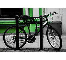 Bike Stop Photographic Print