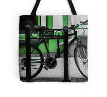 Bike Stop Tote Bag