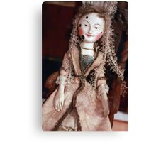 Rare Collectable Victorian Vintage Doll Canvas Print