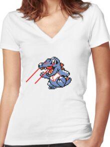 Lazorgator Women's Fitted V-Neck T-Shirt