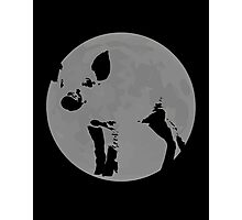Moon Bacon Photographic Print