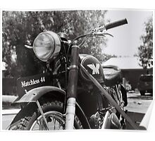 Matchless Motorcycle Poster