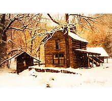 Winter Homeplace Photographic Print