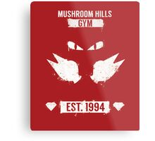 Mushroom Hills Gym Metal Print