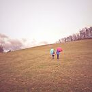 Walk in the Rain by redhairedgirl