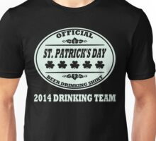 Official Saint Patricks Day Beer Drinking Shirt Unisex T-Shirt