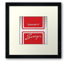 1969 Dodge Dart Swinger 340 Framed Print