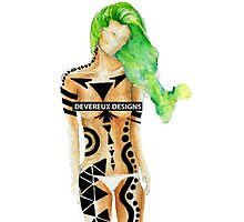 Devereux Women-Green by devereuxdesigns
