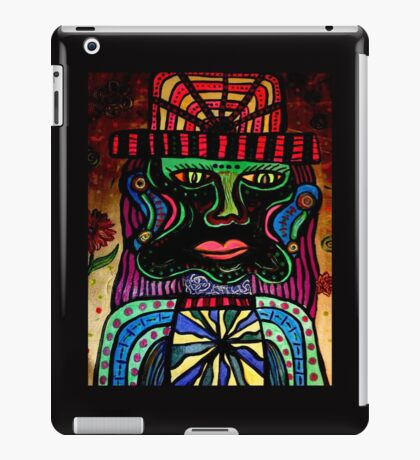 Psychedelic Dad iPad Case/Skin