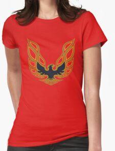 1978 Pontiac Firebird Trans Am (Mayan Red) Womens Fitted T-Shirt