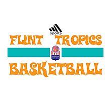 Flint Tropics Basketball Semi Pro Photographic Print