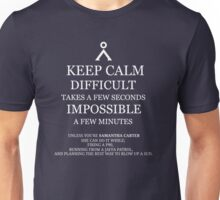 Difficult/Impossible Sam Carter Unisex T-Shirt