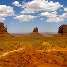 Monument Valley Landscape by LisaThomasPhoto