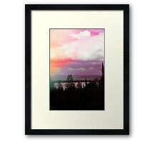 Leak Landscape Framed Print