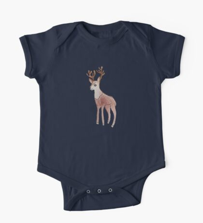 Deer Collection Kids Tee One Piece - Short Sleeve