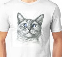 Cross Eyed cat G122 Unisex T-Shirt