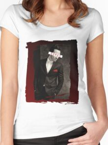 Moriarty - Bored Women's Fitted Scoop T-Shirt