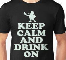 Keep Calm and Drink On Leprechaun St. Patricks Day T Shirt Unisex T-Shirt
