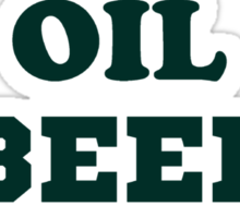 Whale Oil Beef Hooked St. Patricks Day Shirt  Sticker