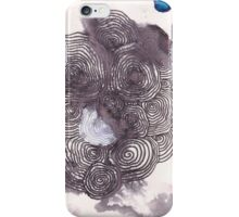 Circle rain iPhone Case/Skin