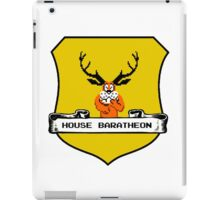 House Baratheon 8-bit Emblem iPad Case/Skin